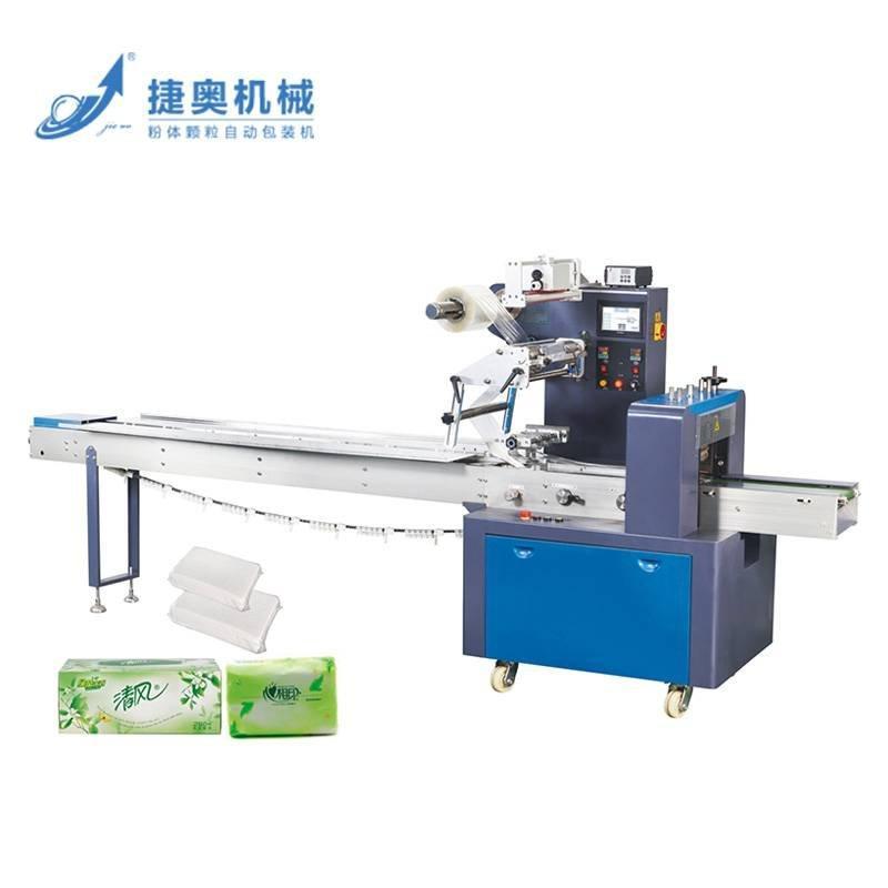 JA-420Z/500Z  纸巾专业枕式包装机